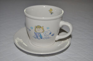 "PEANUTS ""SNOOPY AND HIS FRIENDS"" Tea Cup and Saucer"