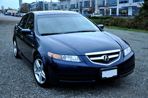Blue 2005 Acura TL with only 142 Km REDUCED Price
