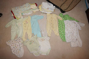 0-3 month gender neutral baby clothes