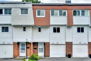 Bright and open 4 bedroom, 2 bath  town home with updates