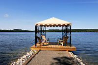 Beatiful Time Share for rent on Wolfe Lake in Westport.