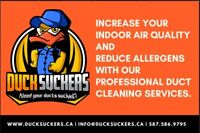 Need your Ducts Sucked??????  Furnace and Duct Cleaning
