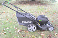 Battery Operated SOLARIS Lawnmower $50.00