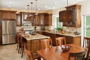 Cambridge style 10' x 10' full wood kitchen - Financing available - $64 a month (O.A.C.)