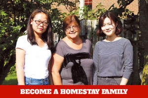 Become a Homestay family