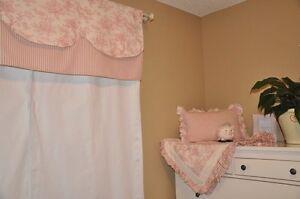 Nursery set for baby girl