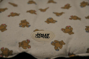 Jolly jumper infant car seat cover with a free Mama pillow