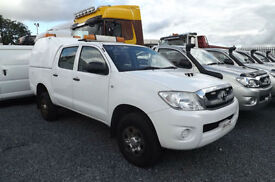 2010 Toyota Hilux 2.5 D-4D HL2 DIESEL DOUBLE CAB PICK UP 4X4 90K FSH 1 OWNER AC