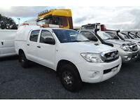 2010 Toyota Hilux 2.5 D-4D HL2 DIESEL DOUBLE CAB PICK UP 4X4 90K FSH 1 OWNER AC