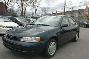 2000 TOYOTA CROLLA CE CLEAN LOW LOW KMS CERTIFIED & E-TEST