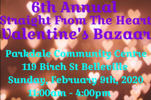 6th Annual Straight From The Heart Valentine's Bazaar!