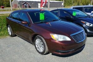 2013 Chrysler 200 New MVI Financing and Warranty Available