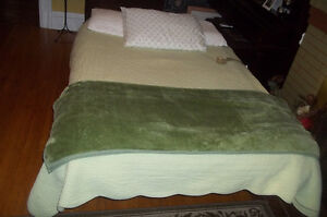 adjustable electric  double bed complete with mattress