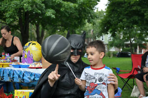 SUPERHERO  BIRTHDAY PARTY CHARACTERS Oakville / Halton Region Toronto (GTA) image 2