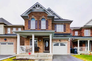 Fully Detached 4 Bdrm. Offers 8Ft Ceilings On The Main