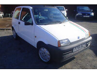 1997 Fiat Cinquecento 900 S+ Unique miles only 5,857!
