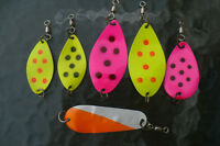 New stock commercial trolling spoons