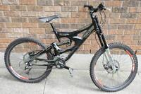trade for boat. i have a 2007 dh pro line gaint faith 3 bike