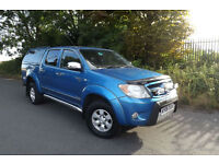 2006 06 Toyota Hi-Lux 2.5D-4D Invincible DOUBLE CAB PICK UP 1 OWNER FSH SUPERB