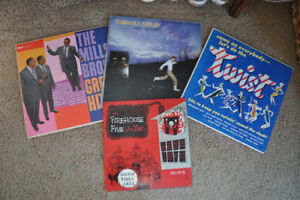 Vinyl LP Records Mills Bros. Thomas Dolby Jazz Lot of 4 Albums