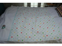 Next Polka Dot Curtains 135cmx137cm