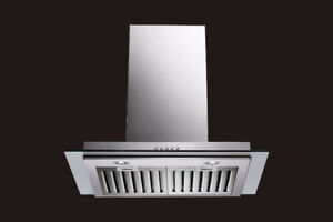 FLAT GLASS WITH BAFFLE FILTERS - 650 CFM