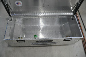 Lund Aluminum truck tool box, Lund flush mount truck tool box Strathcona County Edmonton Area image 2