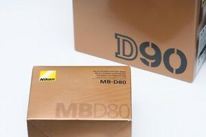 Nikon D90 body with MB-D80 battery grip