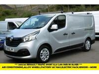 2015 RENAULT TRAFIC SL27 SPORT SWB DIESEL VAN IN SILVER WITH AIR CONDITIONING,SA