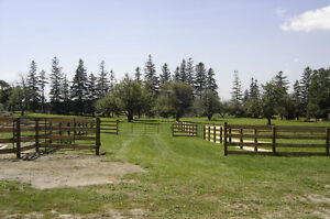HORSE FENCE...All Types of livestock, equine and farm fence, Kawartha Lakes Peterborough Area image 2