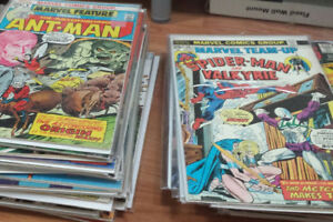 200+ Comic Books (Gold age, Silver Age and some newer)