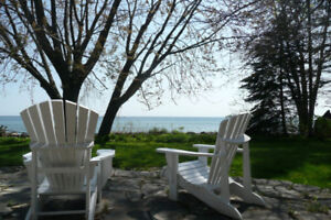 100 feet of Stunning Lake Simcoe Waterfront with Beautiful Home