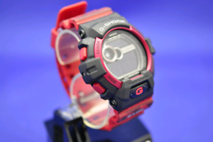 New Red and Black Camo Casio G-Shock model GLS-8900CM-4CR