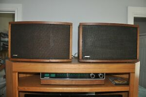 Bose spatial reciever and 2 Bose 901 series 4 speakers