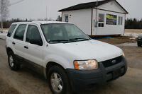2004 Ford Escape 4WD LOADED  AUTO SUV, Crossover