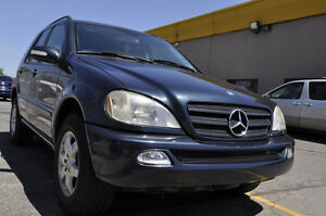 2004 Mercedes-Benz ML500, Only 118K, Fully Loaded, E-Certified.