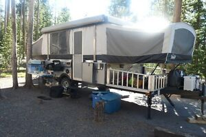 """Coleman """"off road"""" Evolution E3 Tent Trailer with Toy Hauler"""