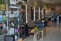 Salon coiffure chaise a Louer