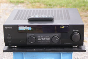 Kenwood AR-404 Stereo Receiver/w remote/phono