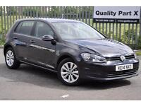 2014 Volkswagen Golf 1.6 TDI SE Hatchback DSG 5dr (start/stop)