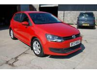 2010 VW VOLKSWAGEN POLO 1.2 SE - IDEAL CHEAP FIRST CAR NICE CONDITION FSH 60 MPG