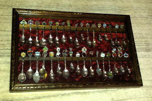 Collector Spoon Display Cases - price reduced