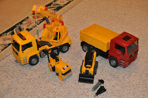 BRUDER Trucks and Construction Machines