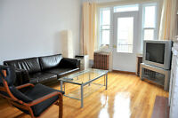Beautiful furnished apt. near Snowdon metro - $95/day or $600/wk