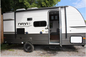 2019- 16 foot travel trailer with bunks