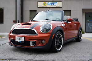2011 MINI COOPER S CONVERTIBLE NAV, SPORT, LEATHER, HK SOUND