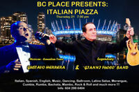 "BC PLACE ITALIAN PIAZZA ""Gianni Fuoco"" and ""Gustavo Herrera"""
