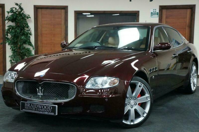 2007 Maserati Quattroporte 4.2 V8 SPORT GT 4d 396 BHP Auto ...