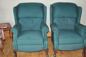 2 Recliner Arm Chairs