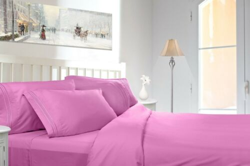 1800 COUNT DEEP POCKET 4 PIECE BED SHEET SET - 26 COLORS AND ALL SIZES AVAILABLE